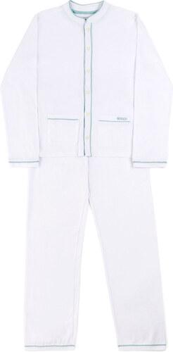 Pyjama Maille Long - Blanc