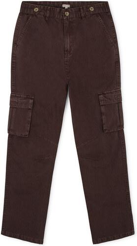 Pantalon Cargo – Gris Taupe