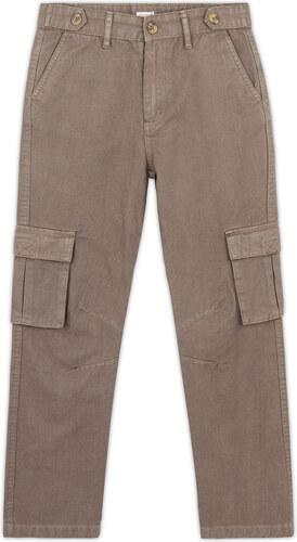 Pantalon Cargo - Kaki Clair