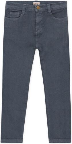 Pantalon délavé bleu