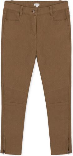 Pantalon Dobby - Aubergine