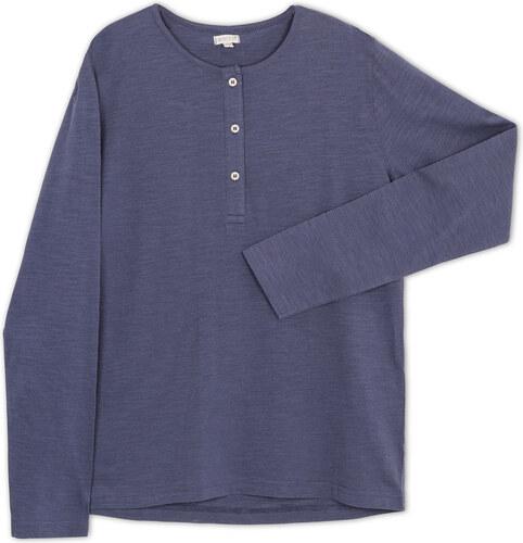 Chemisette poches bleu