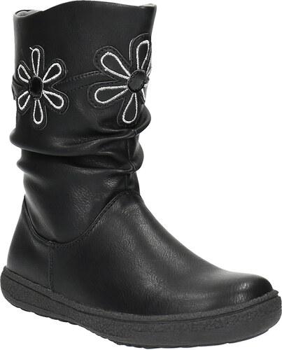 Mini B Dievčenské čižmy s kvetinami - Glami.sk 4d0aa4bb9bc
