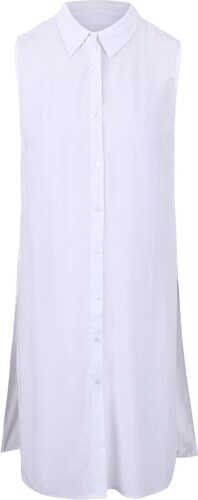 ab937ac1202 Bílá dlouhá halenka bez rukávů Haily´s Elora - Glami.cz