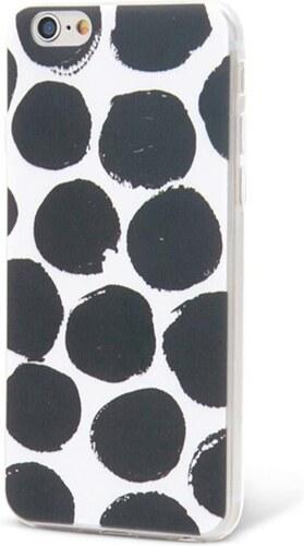 Černo-bílý ochranný kryt na iPhone 6 6s Epico Dotsie - Glami.cz 7dd415bc84f