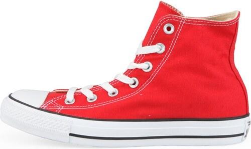 44558a1fd9c Červené unisex kotníkové tenisky Converse Chuck Taylor All Star ...