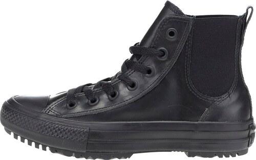 Černé dámské kotníkové boty Converse Chuck Taylor All Star Chelsea Boot 48a3920937