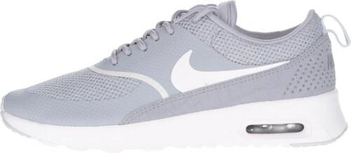 7f22889a8f Svetlosivé dámske tenisky Nike Air Max Thea - Glami.sk