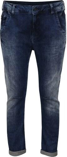 Tmavě modré dámské džíny se sníženým sedem Pepe Jeans Topsy - Glami.cz 7fd539f4ac
