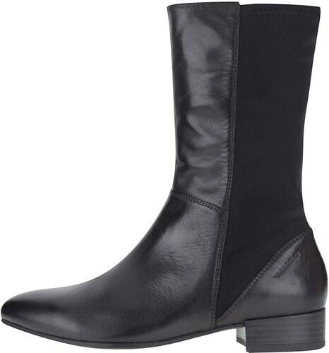Čierne dámske kožené vyššie členkové topánky Vagabond Gigi - Glami.sk ec484b4591c