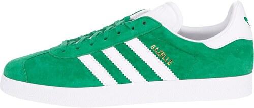 639b6c1dbef Zelené pánské semišové tenisky adidas Originals Gazelle - Glami.cz