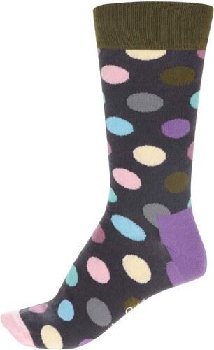 Černé pánské puntíkované ponožky Happy Socks Big Dot - Glami.cz f8d9e248fa