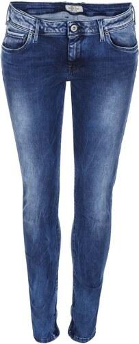 Tmavě modré dámské džíny s nízkým pasem Pepe Jeans Cher - Glami.cz f4db6bde3d