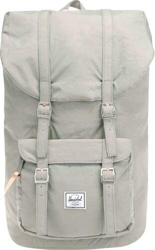 95cd79d9cd Zeleno-šedý pánský batoh Herschel Little America 25 l - Glami.cz
