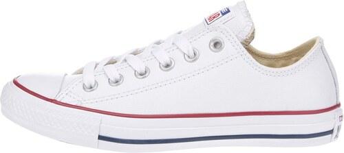 Biele unisex kožené tenisky Converse Chuck Taylor All Star - Glami.sk 4e9b00227c