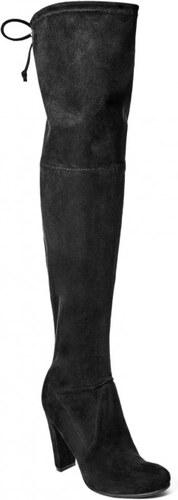 80265abb692 GUESS Rena Over-The-Knee Boots - black fabric - Glami.cz