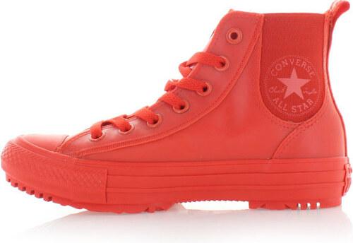Dámske červené vysoké tenisky Converse Chuck Taylor All Star Chelsea ... 807bcee01a