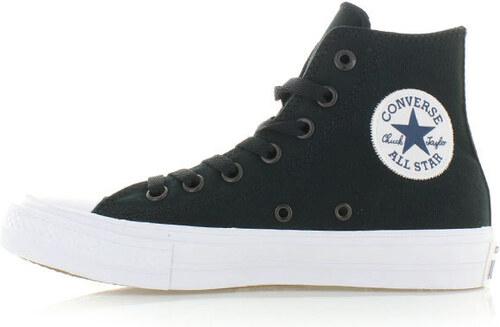 Dámské černé vysoké tenisky Converse Chuck Taylor All Star II - Glami.cz b4738ffaa3