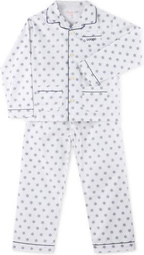 Pyjama long bleu foncé
