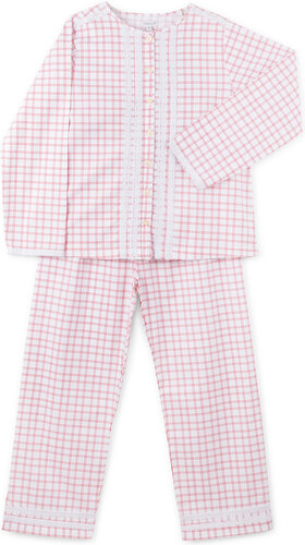 Pyjama long rouge
