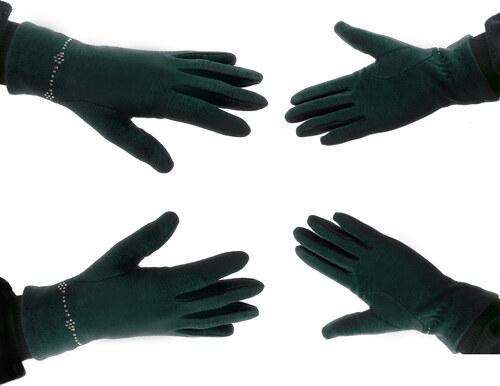 dcaceca1878 Fashion Icon Dámské elegantní rukavice s ozdobnými kamínky ZR0006-0110
