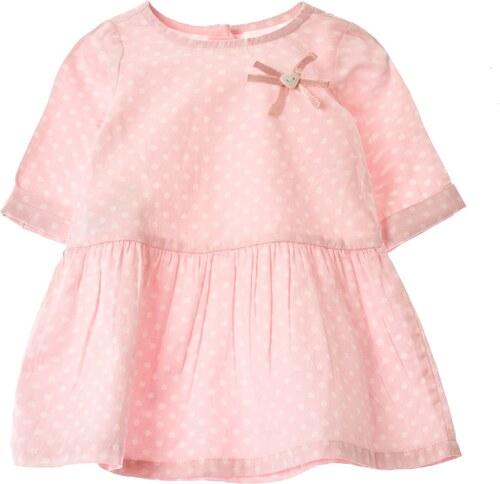 0 1 2 Robe baby-doll - rose