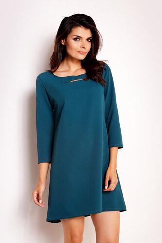 5a86d7da45af Infinite You Modro-zelené šaty M111 - Glami.sk