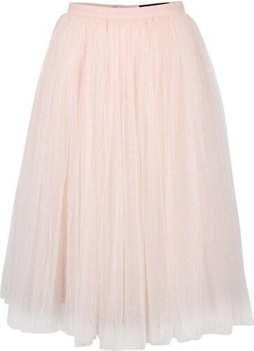 Svetloružová tylová midi sukňa Little Mistress - Glami.sk 4e5f1f7460