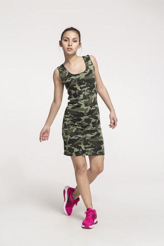 1543c0eced35 SHOPHYL Maskáčové Dámské šaty Army Dress