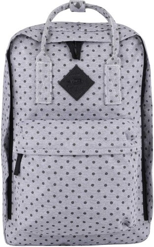 Šedý dámský batoh s puntíky Vans Icono Square - Glami.cz 7fa1bd337c