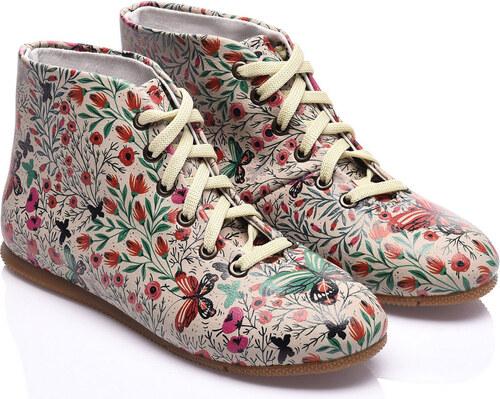 Streetfly Dámske členkové topánky STR-3913 Printed - Colourful ... bd7f7377c6f