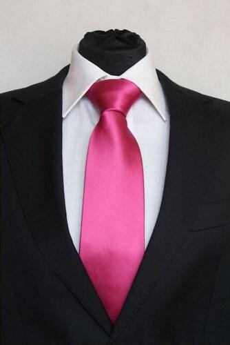 Šperky LAFIRA Style Pánská tmavě růžová klasická kravata 900 - Glami.cz a2d9c1ce44
