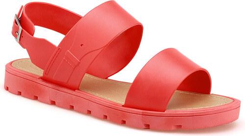db61c35379aa Gumové červené sandále - 5029 odtiene farieb  červená - Glami.sk
