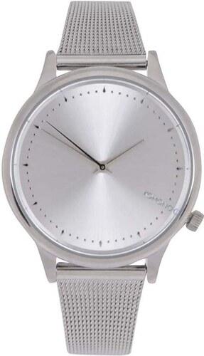Dámské hodinky ve stříbrné barvě s kovovým páskem Komono Estelle Royale fbeeaca8ee