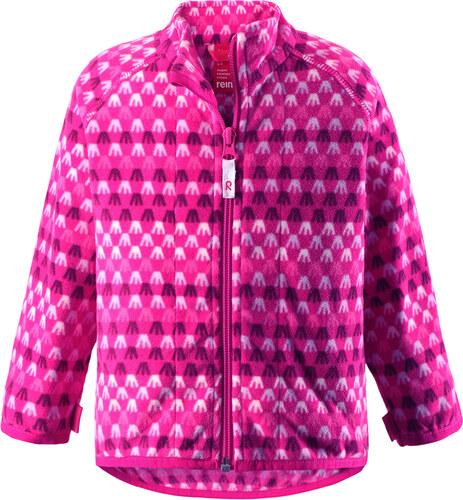 dětská flísová mikina Vemmel - pink 7acbdb1e55