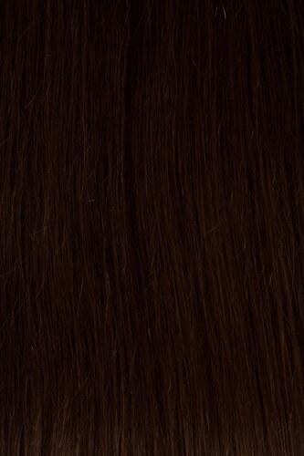 Vlasy s keratinem - 50 cm středně hnědá