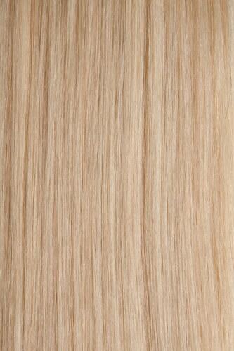 Vlasy s keratinem - 50 cm platinová blond, 50 pramenů