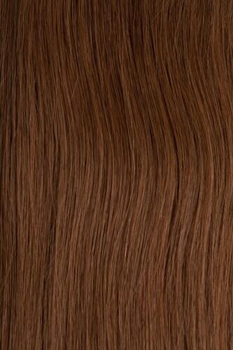 CLIP IN vlasy - set 45 cm oříšková