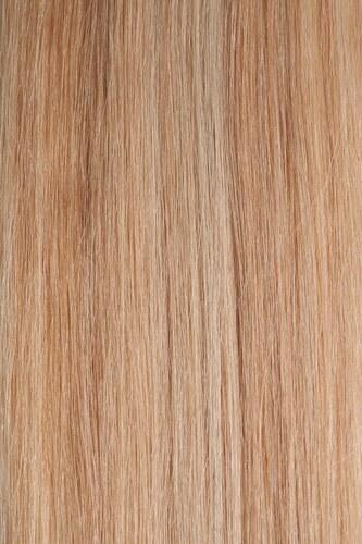 CLIP IN vlasy - set 50 cm melír přírodní blond/světlá blond