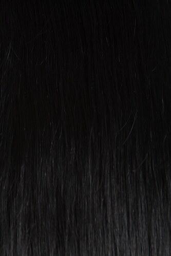 CLIP IN vlasy - set 75 cm uhlově černá