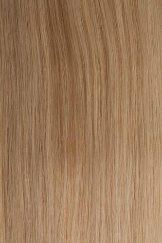 Vlasy s keratinem - 40 cm světlá blond 50 pramenů