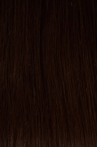 CLIP IN vlasy vlnité - set 50 cm středně hnědá