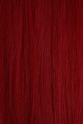 Vlasy s keratinem - 50 cm křiklavě růžová, 10 pramenů