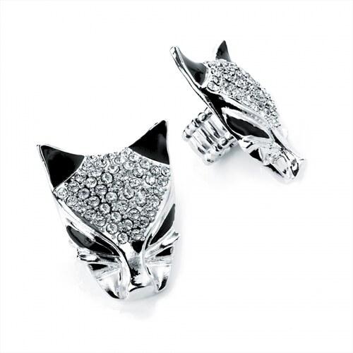Prsten ve stříbrné barvě Cat 25626