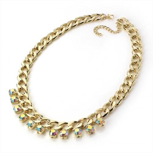 Náhrdelník ve zlaté barvě Hot 28513