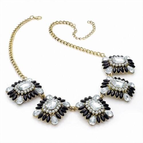 Černý náhrdelník Antique 28856 černý