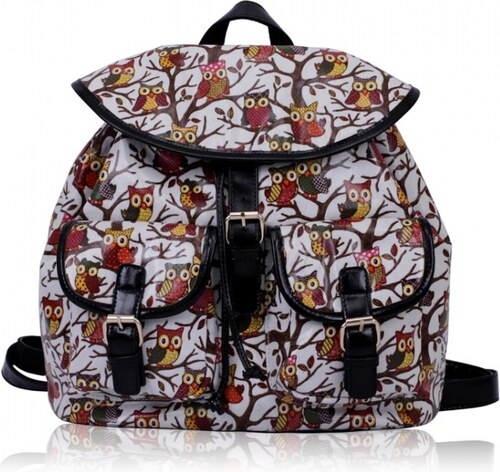 Dámský batoh Owl 270 bílý