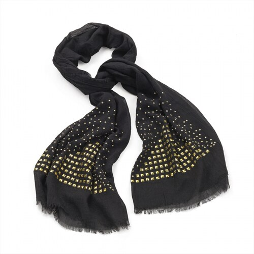 Dámský šátek Studs 29083 černý