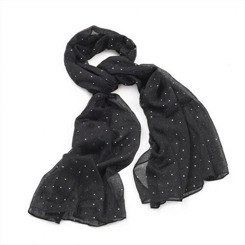 Dámský šátek Sky 29080 černý