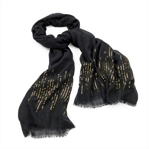 Dámský šátek Sequin 29033 zlatý